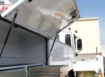Custom Truck Lockers